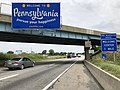 2019-06-07 11 20 33 View north along Interstate 81 entering Antrim Township, Franklin County, Pennsylvania from Maugansville, Washington County, Maryland.jpg