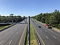 2019-09-03 10 51 20 View south along U.S. Route 29 (Columbia Pike) from the overpass for Seneca Drive in Columbia, Howard County, Maryland.jpg