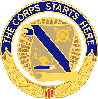Quartermaster Corps (United States Army) - Image: 23 QM Bde DUI