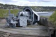 28 cm gun at Oscarsborg Fortress