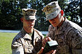 2nd LAAD Marines find their azimuth during land navigation training 140903-M-BN069-016.jpg