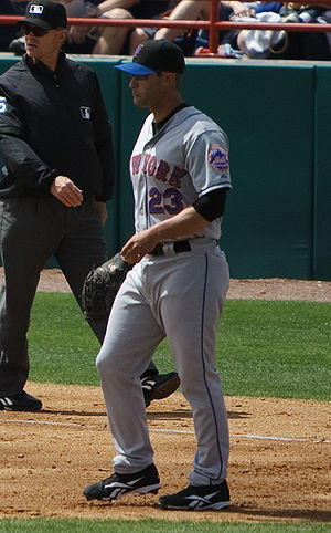 Chris Carter (left-handed hitter) - Carter with the New York Mets