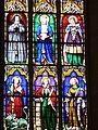 4264.Bunte Bleiglasfenster-Die Bibel in Bildern- Verständlich auch für die nicht Wort und Schrift lesen könnende Bevölkerung vergangener Zeiten-Saint Thegonnec.JPG