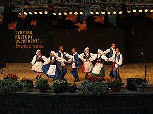 Podkarpackie Voivodeship - Regional costumes of the Pogorzans