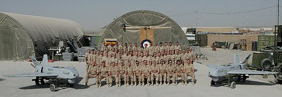 438 Sqn personnel in Kandahar Afghanistan with Sperwers.jpg