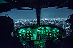459th Airlift Squadron UH-1N Huey pilots, fly over Tokyo after completing night training April 25, 2016.jpg