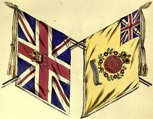 46th (South Devonshire) Regiment of Foot - Colours of the 46th Regiment