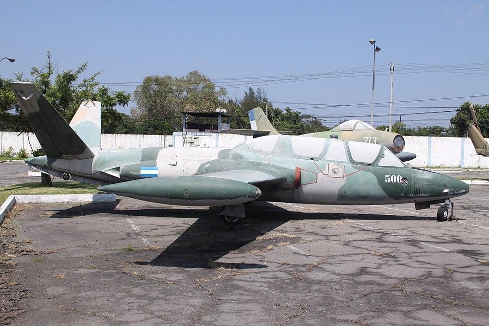 500 Fouga CM-170R Magister El Salvador Air Force (7485714184)