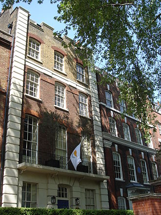 Georgios Iacovou - Residence of Cyprus High Commissioner in London, 5 Cheyne Walk