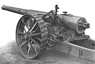 BL 6-inch gun Mk XIX - Image: 6 inch Mark XIX gun rear left
