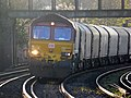 66139 6O32 Margam to Dollands Moor (then to Broekman Group in Rotterdam, the Netherlands or to Myriad in Maubeuge France) (16972209109).jpg