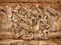 6th - 8th century Hucchimalli Gudi Temple in Rekhanagara style, Kartikeya on peacock, Aihole Hindu monuments Karnataka.jpg