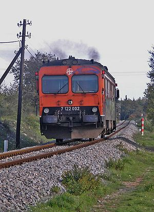 Y1 (railcar) - A Croatian Railways Y1 unit