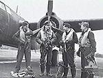 8 Squadron RAF Boston aircrew England Feb 1944 AWM UK1056.jpg