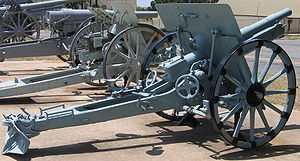 8 cm FK M. 17 - An 8 cm Feldkanone M. 17 at the U.S. Army Field Artillery Museum, Ft. Sill, OK