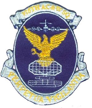 926th Aircraft Control and Warning Squadron - Image: 926th Aircraft Control and Warning Squadron Emblem