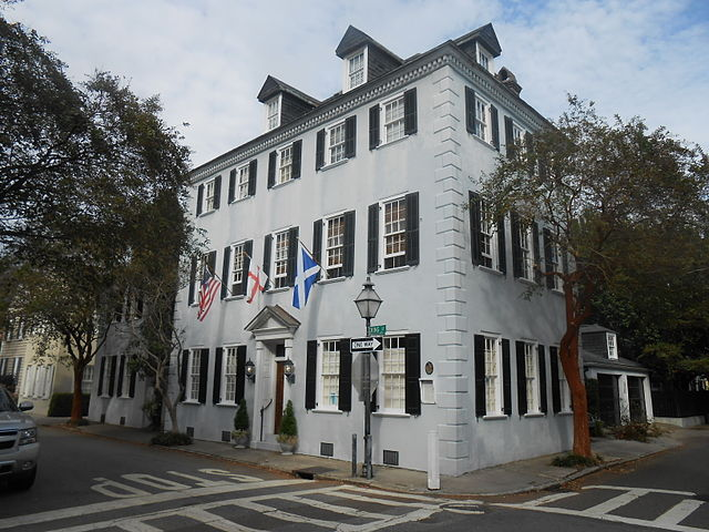 The house at 94 Tradd St., Charleston, South Carolina was once the studio for Samuel Morse. Photo by ProfReader.