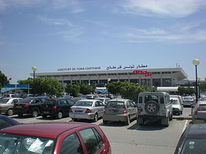 Tunis–Carthage International Airport - Image: Aéroport de Tunis