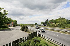 A31 dual carriageway at Picket Post - geograph.org.uk - 178620.jpg