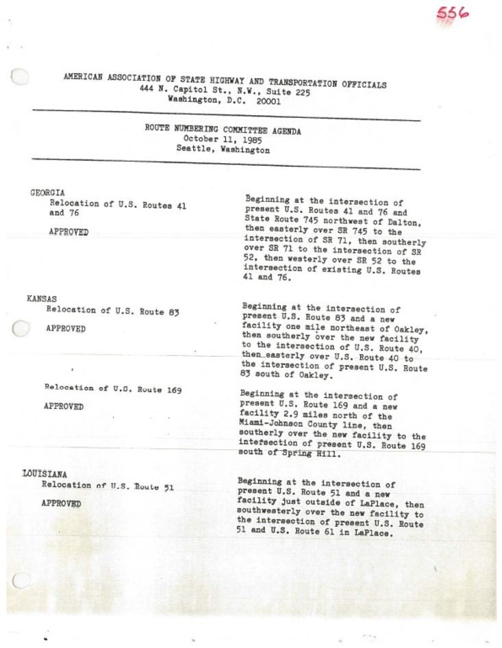 Page:AASHTO USRN 1985-10-11 pdf/1 - Wikisource, the free