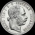 AHG 1 florin 1875 Pribram obverse.jpg