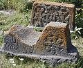 AH - Gravestone in Hrazdan cemetery, Armenia, 01 Cropped.JPG