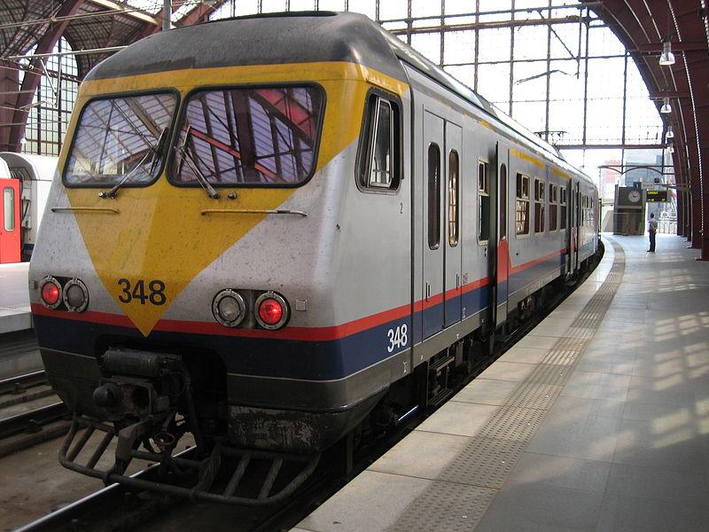 Passagens de trem na Bélgica