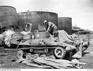 31st/51st Battalion (Australia) - Image: AWM 117313 31st 51st Battalion Nauru