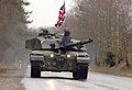 A Challenger 2 Main Battle Tank from the Royal Scots Dragoon Guards. GERMANY. 21-01-2003 MOD 45142222.jpg
