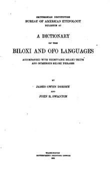 A Dictionary of the Biloxi and Ofo Languages.djvu