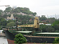 A Ship enters into Inner Harbour at Vizag seaport 01.JPG