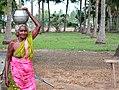 A Tamil Village old lady.jpg