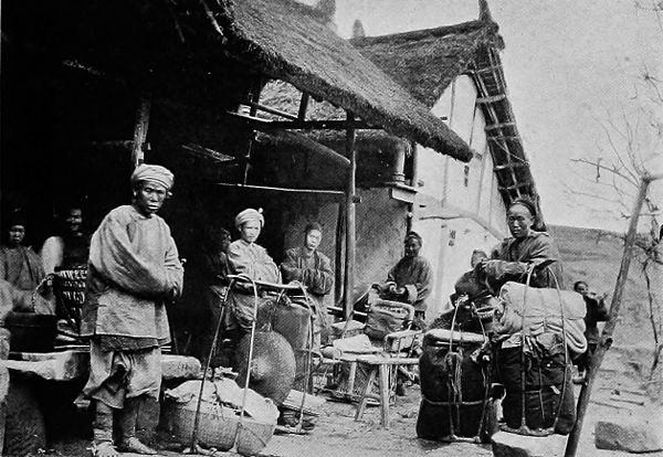 A Traveller Arriving at an Inn in Manchuria.jpg