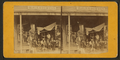 A general store with a group posed on the porch, by S. S. Vose.png