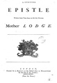 A genuine epistle written some time since to the late famous Mother Lodge.pdf