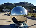 A large mirror ball on the Promenade - geograph.org.uk - 532274.jpg