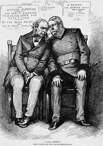 United States presidential election, 1880 - Hancock's blunder about tariffs may have harmed his standing with Northern industrial workers.