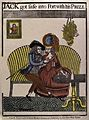 A man and a woman sitting on a couch Wellcome V0049608.jpg