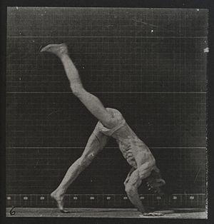A man performing a foward flip. Plate 6 Wellcome L0038090.jpg