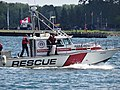 A para-sailing rescue vessel patrols Toronto's busy harbour, 2016 07 03 (2).JPG - panoramio.jpg