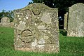 A symbolic stone in Legerwood Churchyard - geograph.org.uk - 902082.jpg