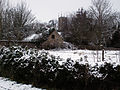 A view from the junction of Belvoir Road and Harston Road, Denton, Lincolnshire - Dec 2005.JPG