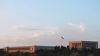 A view of the Anıtkabir from Yücetepe.JPG