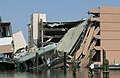 A view showing the damage to the casino resort area located in Biloxi, Mississippi (MS), resulting from Hurricane Katrina after the category-4 hurricane battered the Gulf Coast with - DPLA - 57b6c3a8b263d4e870db80a7c31940d1.jpeg