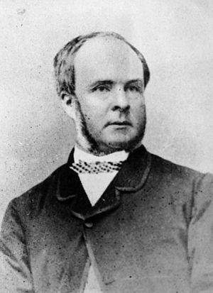Abraham Fitzgibbon - Abraham Fitzgibbon circa 1863