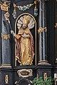 Adlwang Sankt Blasien Wallfahrtskirche Hauptaltar links Ulrich von Augsburg.jpg