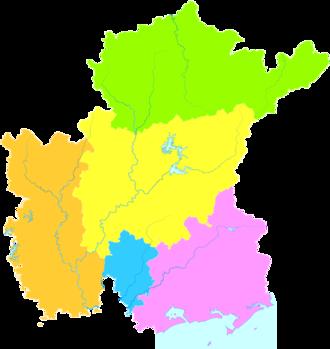 Maoming - Image: Administrative Division Maoming 3