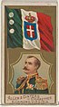 Admiral, Italy, from the Naval Flags series (N17) for Allen & Ginter Cigarettes Brands MET DP834923.jpg