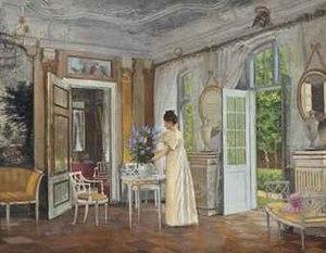 Adolf Heinrich-Hansen - Image: Adolf Heinrich Hansen Arranging Summer blooms