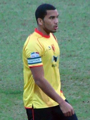 Adrian Mariappa - Mariappa with Watford in 2011